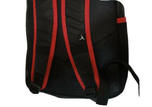 New NIKE AIR Large LOGO BLACK /Red /Laptop Storage