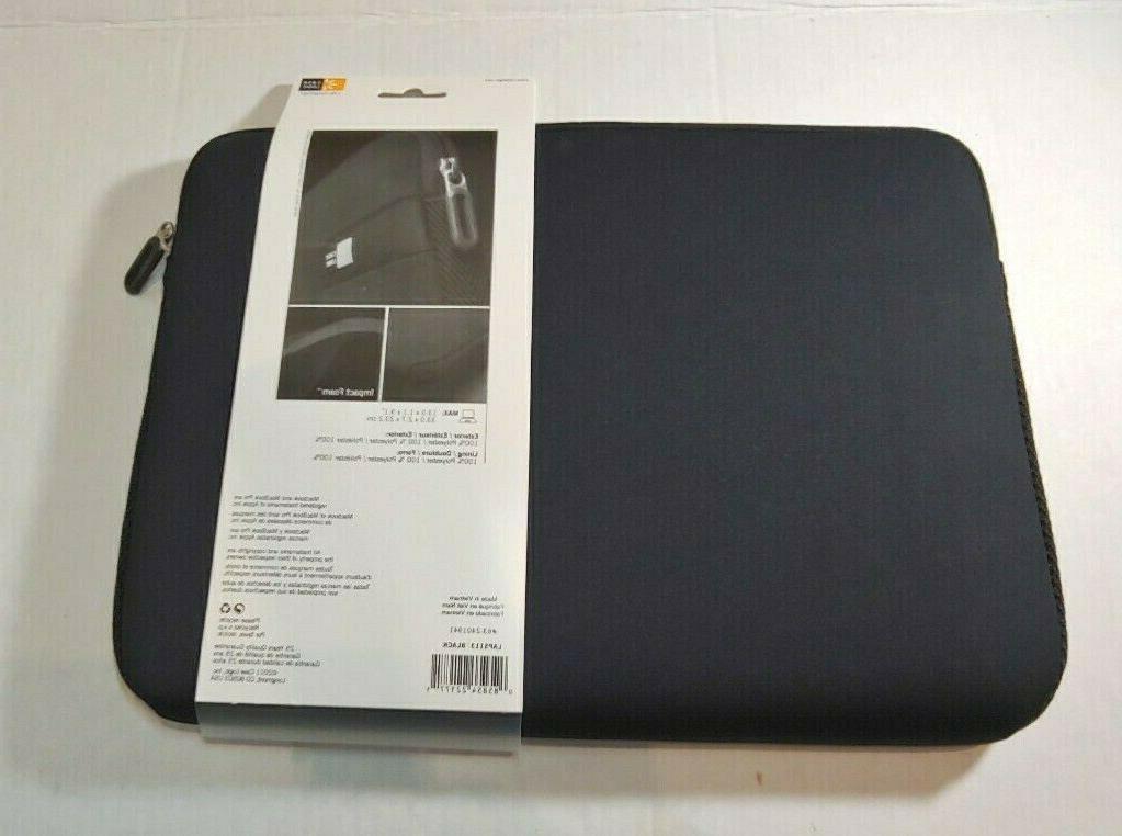 "New Case Logic Laptop 13.3"", Black"