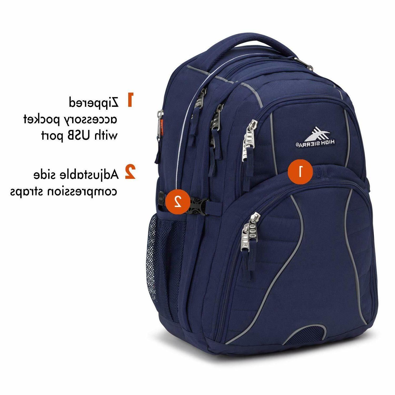 NEW Sierra Computer Backpack Blue