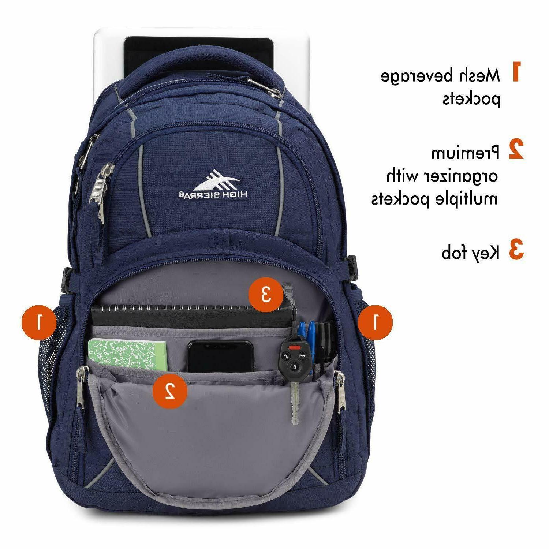 NEW High Sierra Computer Laptop Backpack Blue