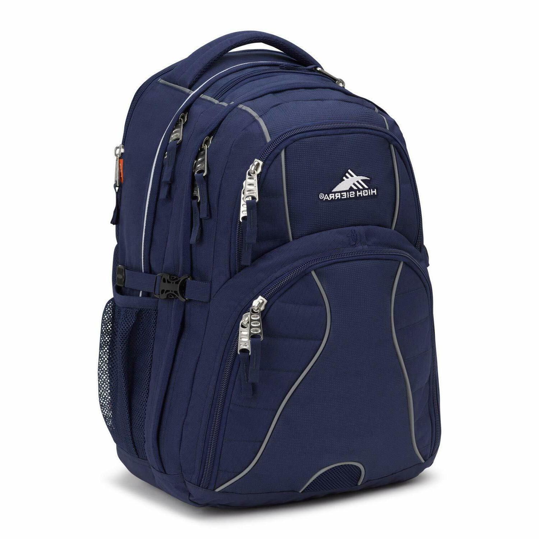 new swerve computer laptop backpack navy blue