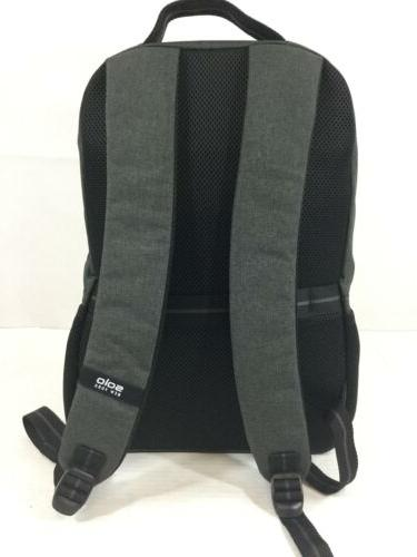 "Solo York Bowery Backpack Gray 18"" Laptop Tablet New Strength"