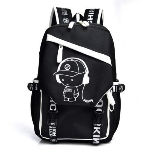 Night Luminous Laptop Bag Bags Port