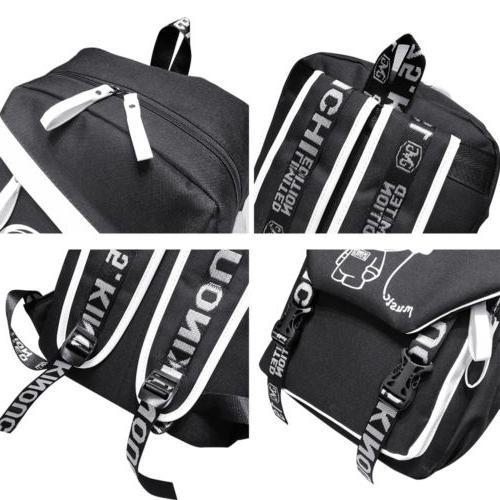 Night Backpack Laptop Bag Shoulder Bags With