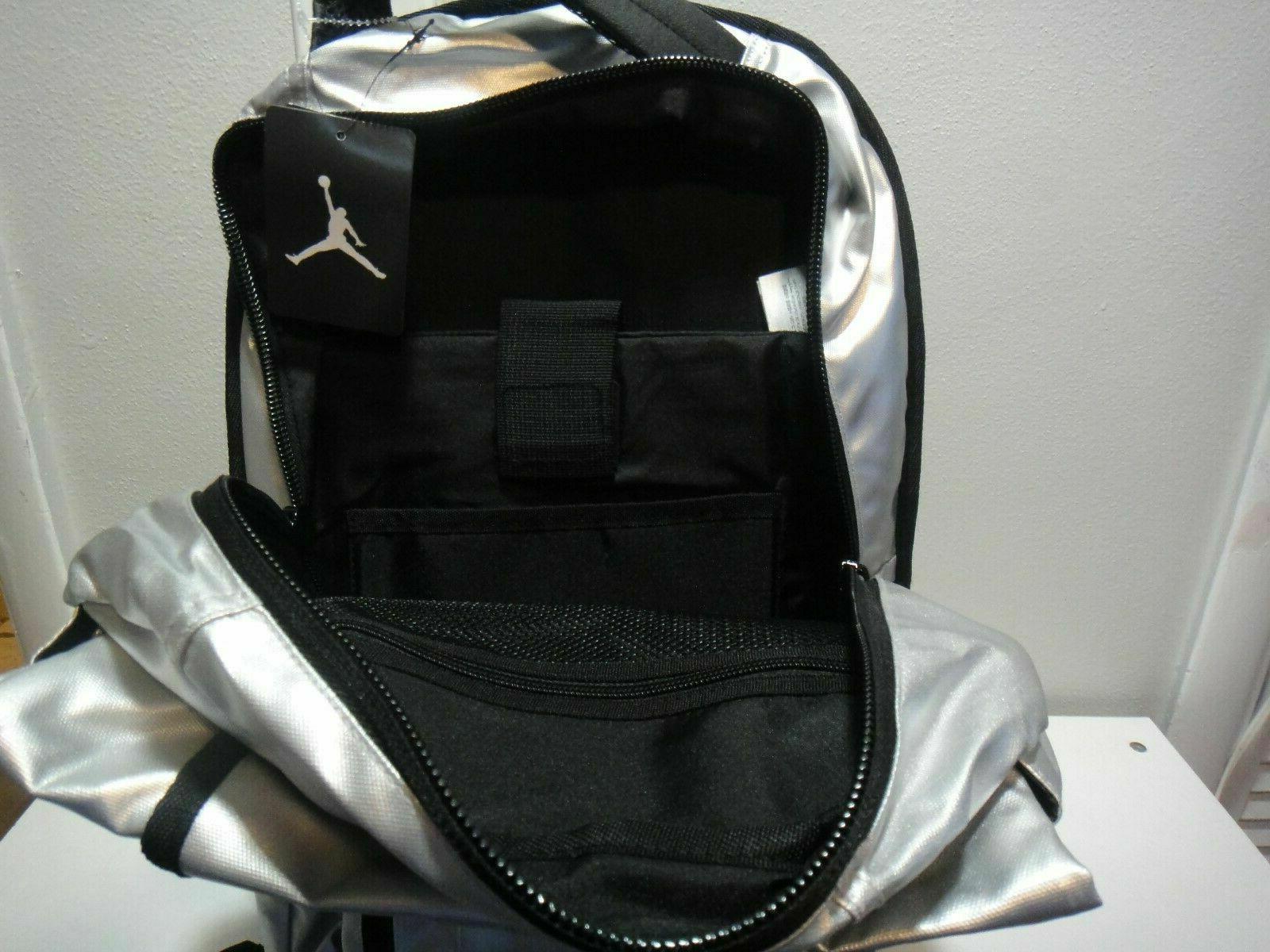 Nike Jordan Jumpman School SILVER Black $65
