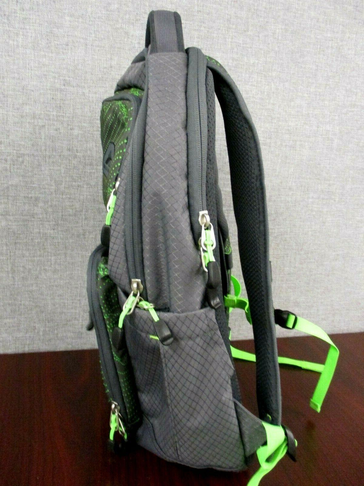 "NWOT Sierra Everyday Lime Green Holds 15"" Laptop"