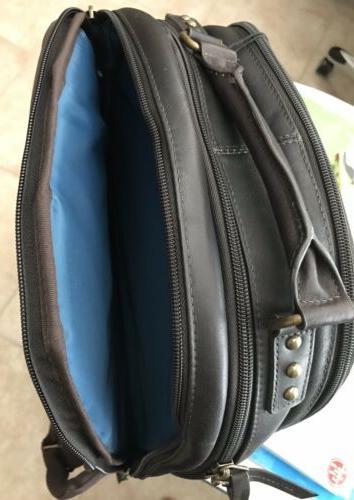 NWT Inch Laptop Dark Brown