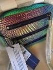 NWT Rebecca Minkoff Hologram 4 Zip Moto Camera Bag
