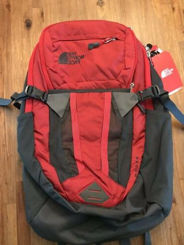 nwt recon backpack 15 laptop bag red