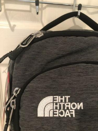 NWT The North Vault Heather Grey Backpack Logo