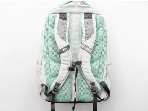 NWT The North Women Laptop Backpack Ice / Sage