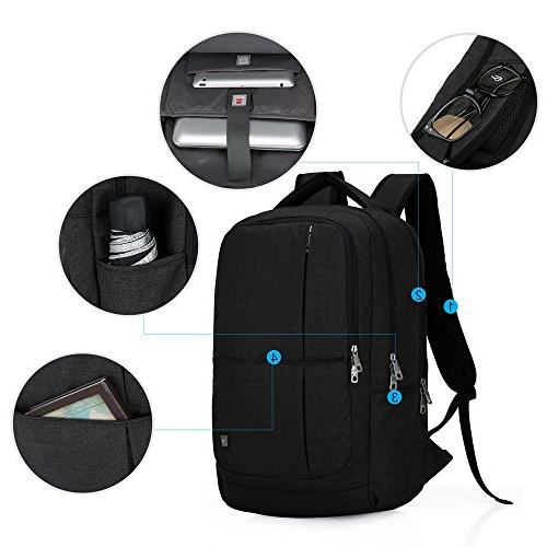 Oiwas Mult-compartment for Inch Laptop Notebook Black