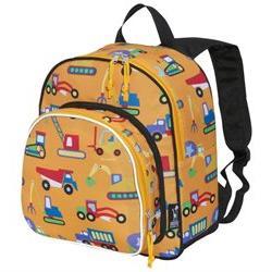 """Wildkin Olive Kids Under Construction Pack """"n Snack Backpack"""