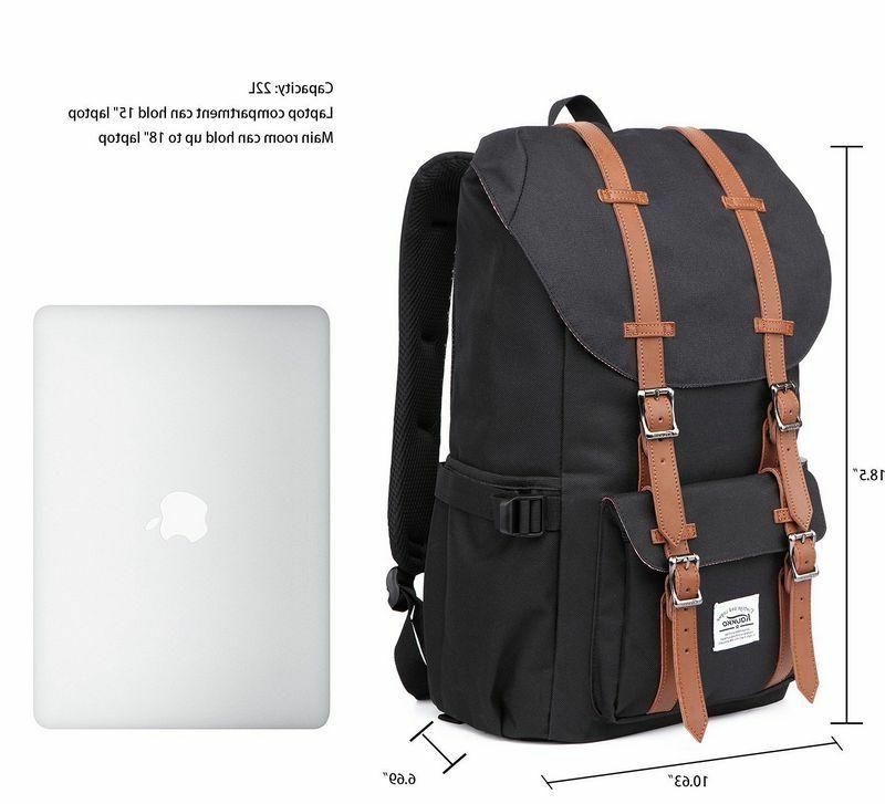 Original Kaukko Canvas Backpack Satchel Laptop Bag