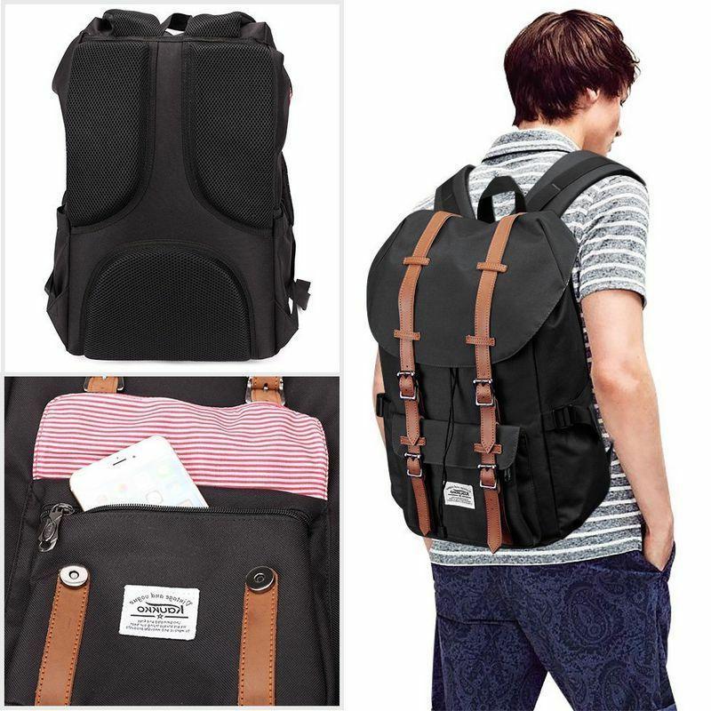 Original Canvas Backpack Satchel Carry Bag