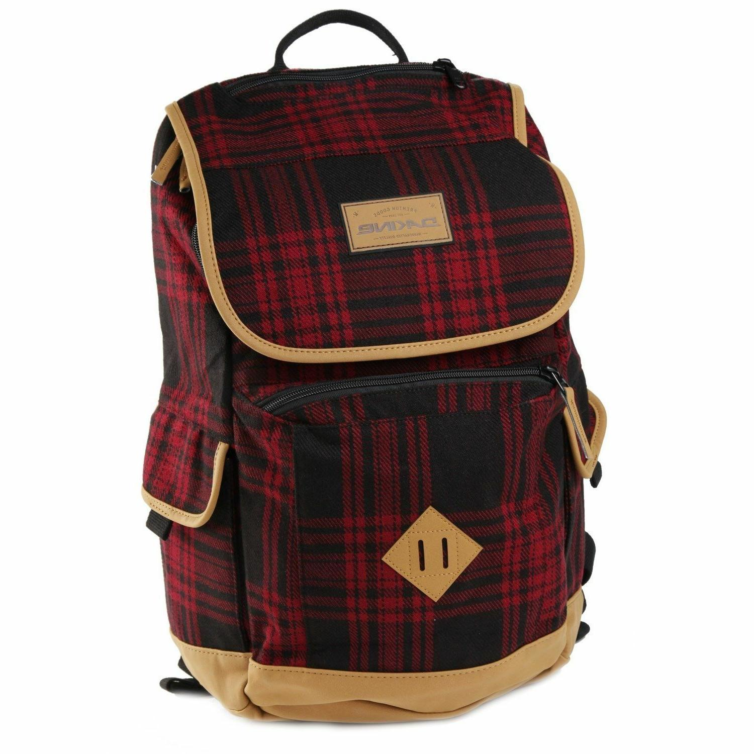 outpost 21l cascade plaid backpack with laptop