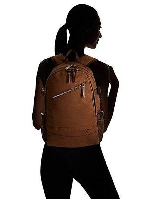 OXA Canvas Laptop Backpack, Brown