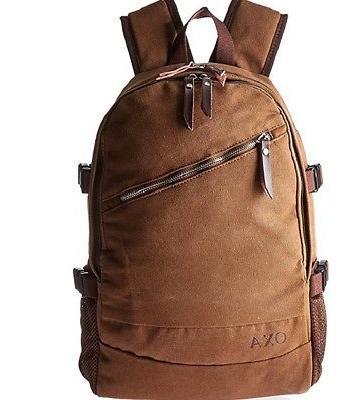 oxa laptop backpack brown