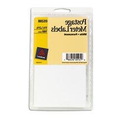 ** Permanent Adhesive Postage Meter Labels, 1-1/2 x 2-3/4, W