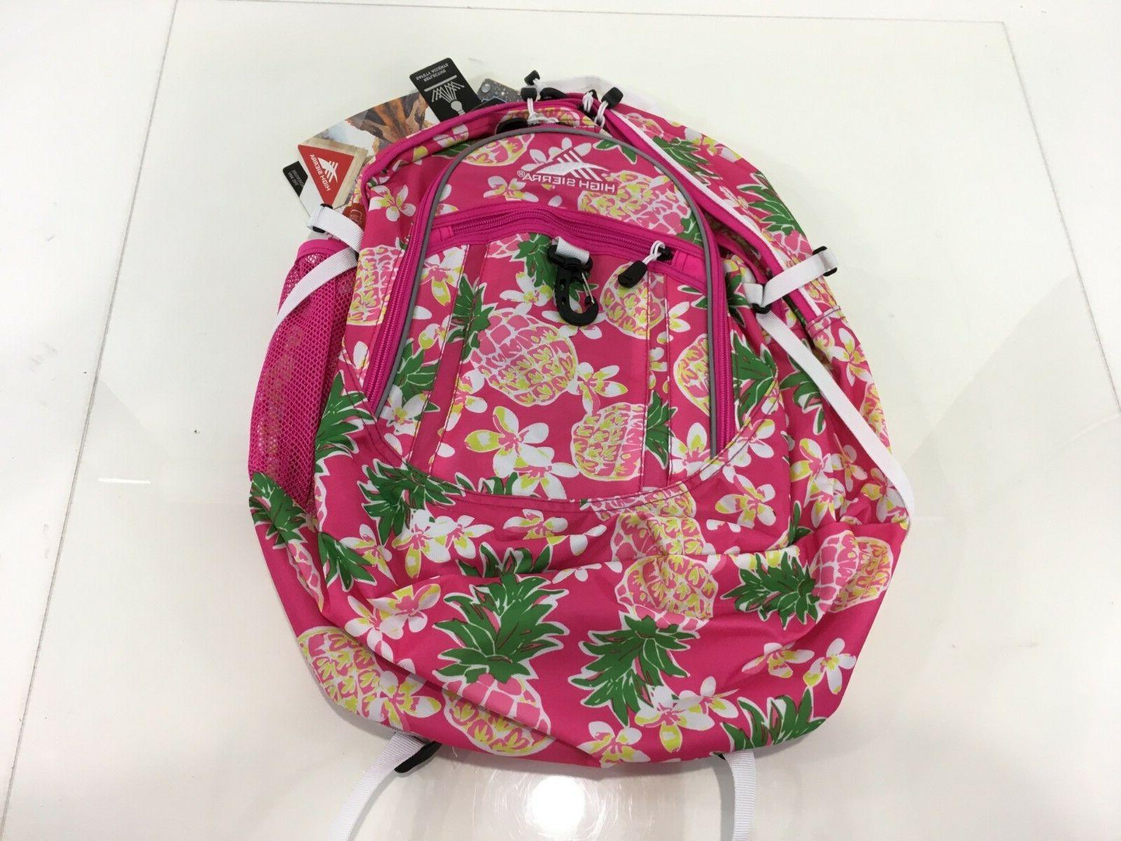 pink r fatboy backpack flamingo pink pineapple