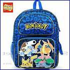 "Pokemon Backpack 16"" Large School Backpack Book Bag"