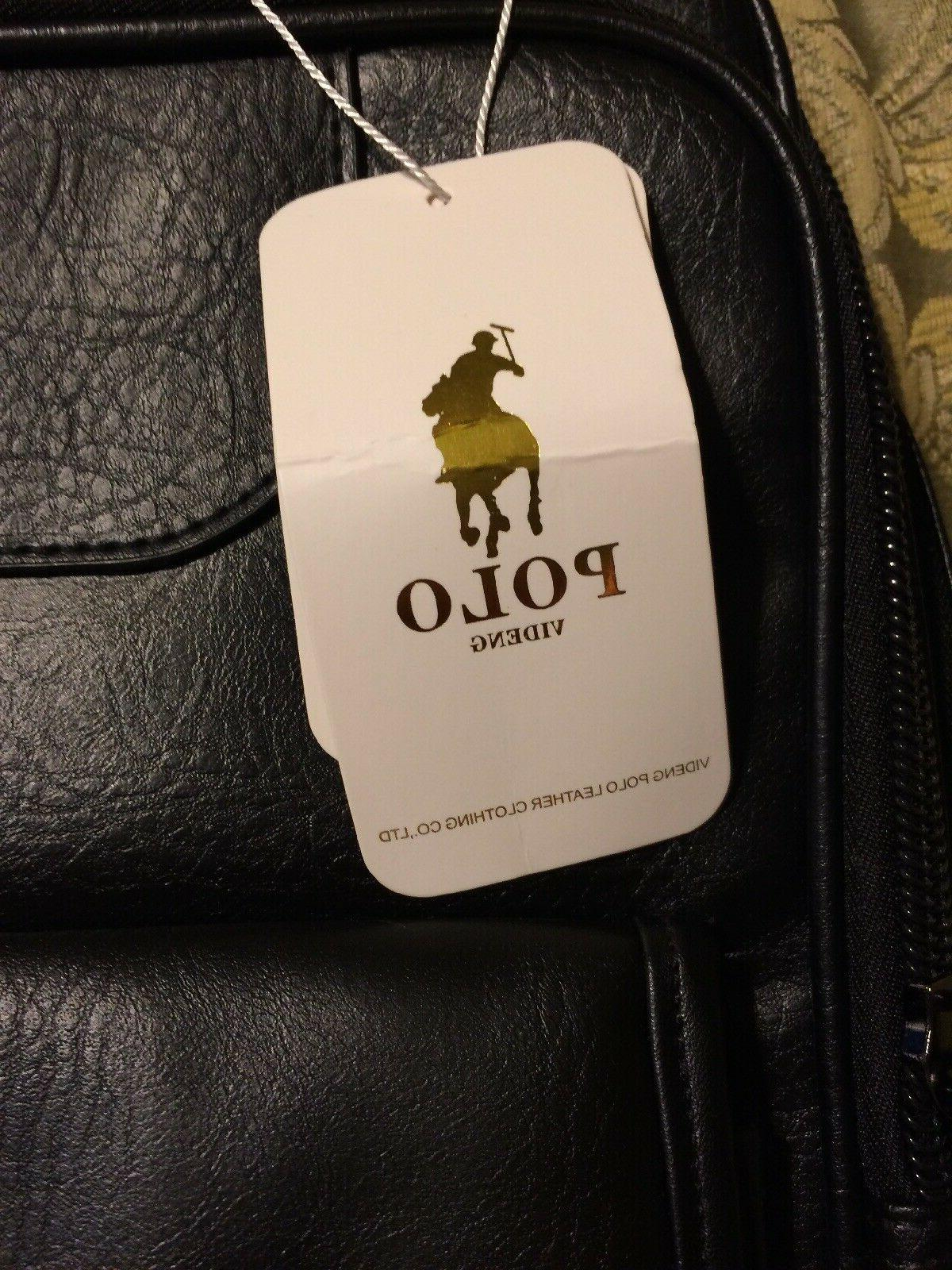 Polo VIDENG Laptop Leather Backpack