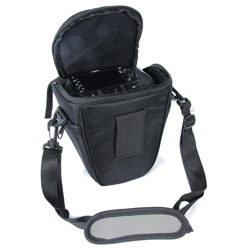 Portable Black Waterproof Case For Sony D5200 D5000 With