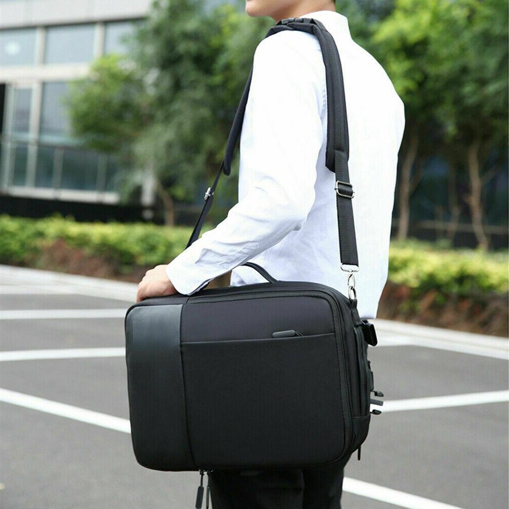 Premium Laptop Notebook Backpack USB Business School
