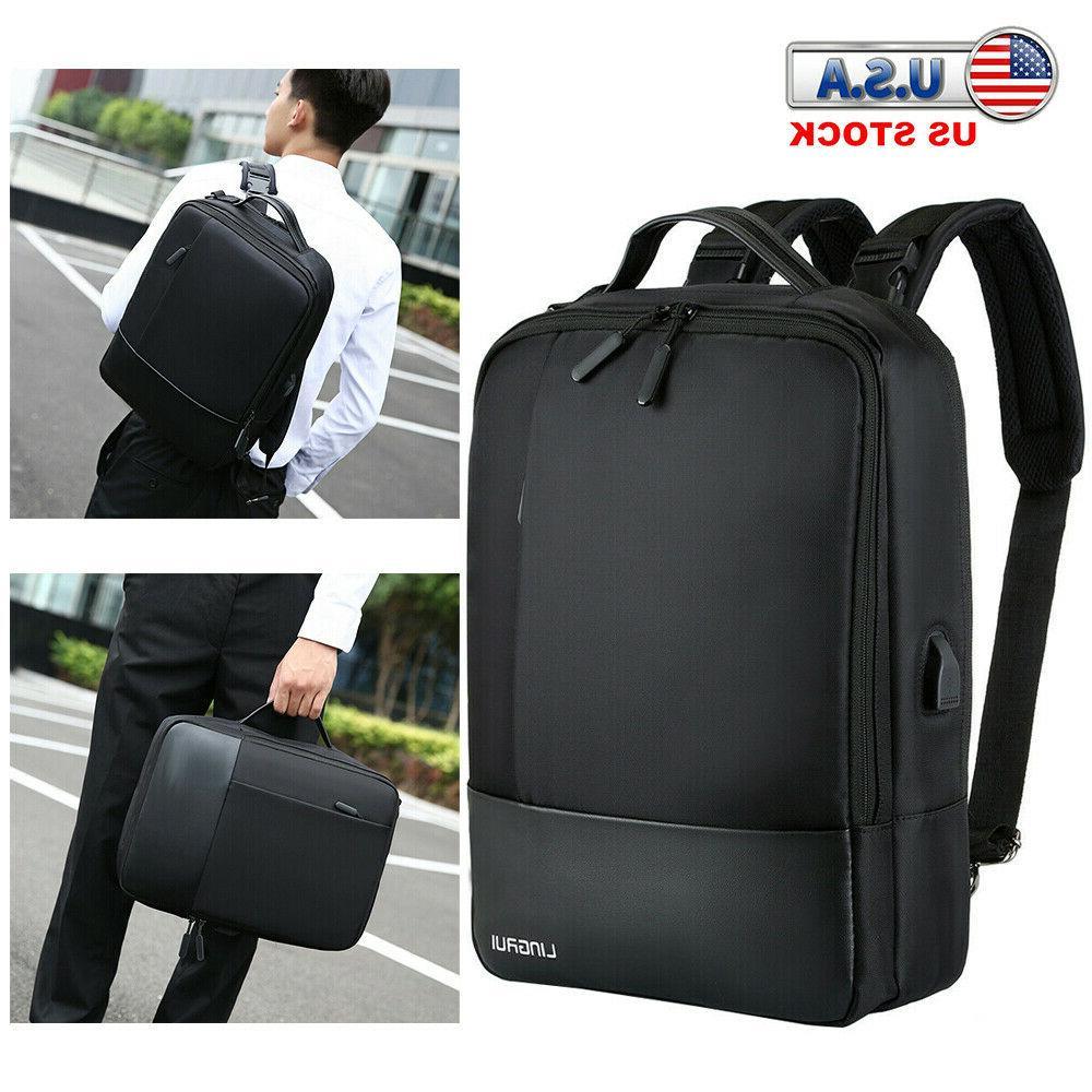 premium anti theft laptop men notebook backpack