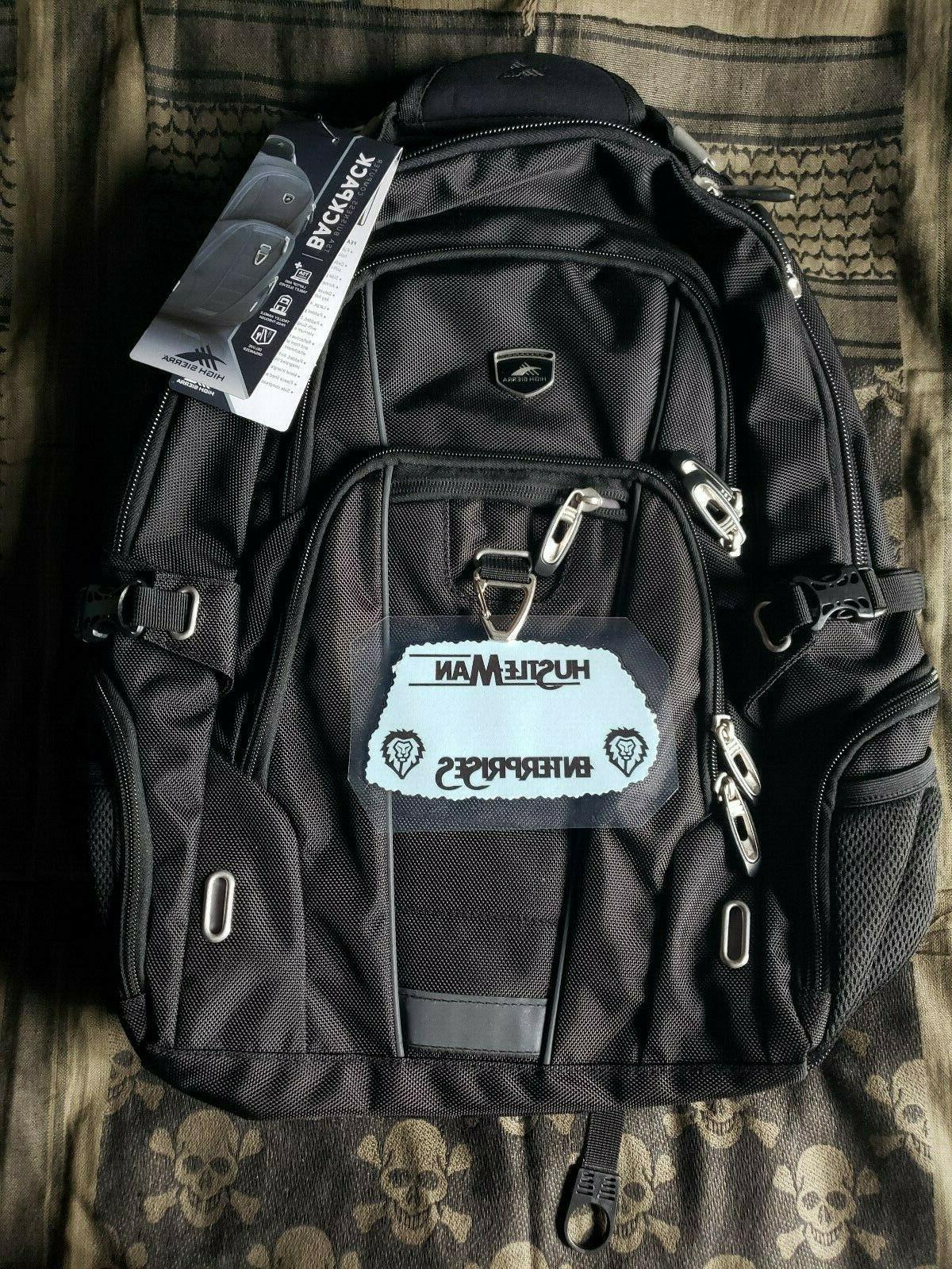pro series laptop tsa business backpack nwt