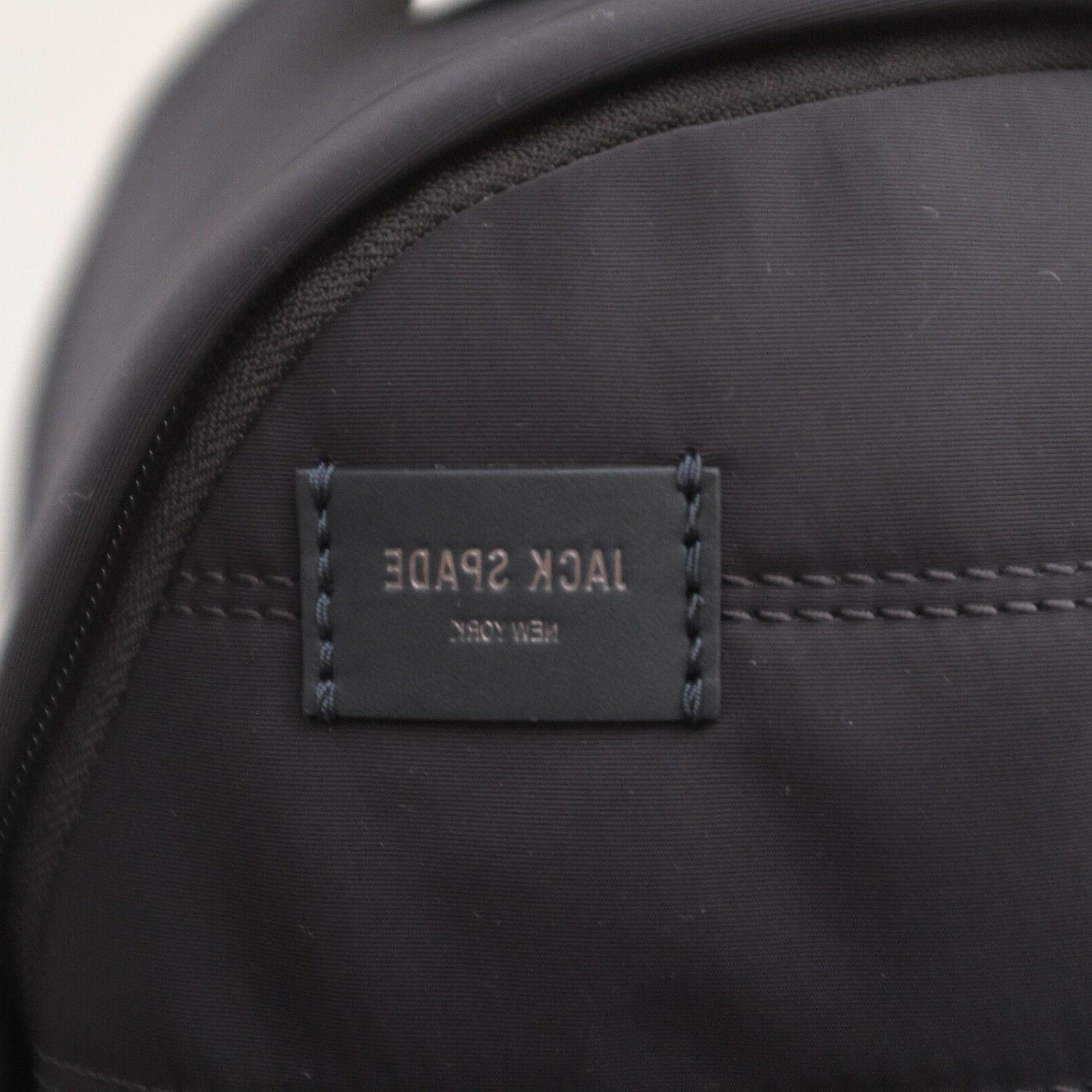 Jack Spade Quilted Leather Padded Sleeve