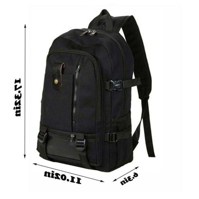 Retro Backpack Hiking Laptop Bag