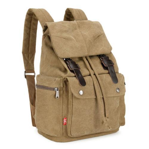 Retro Hiking Laptop Bag Rucksack