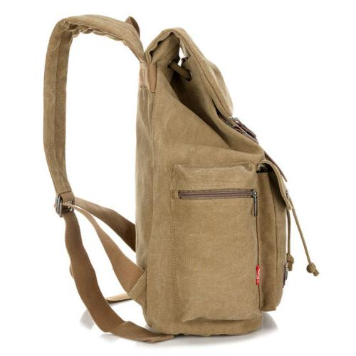 Retro Backpack Hiking Laptop