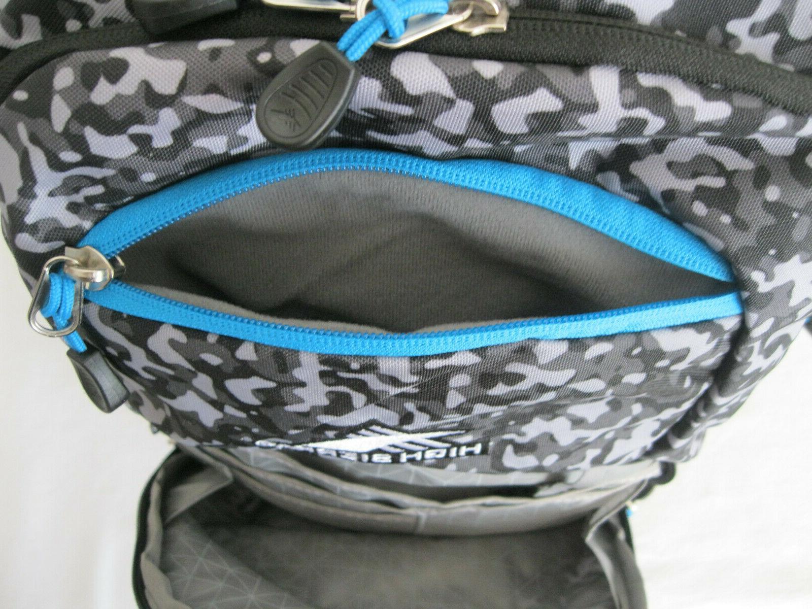 High Riprap Backpack w/ Padded , Camo