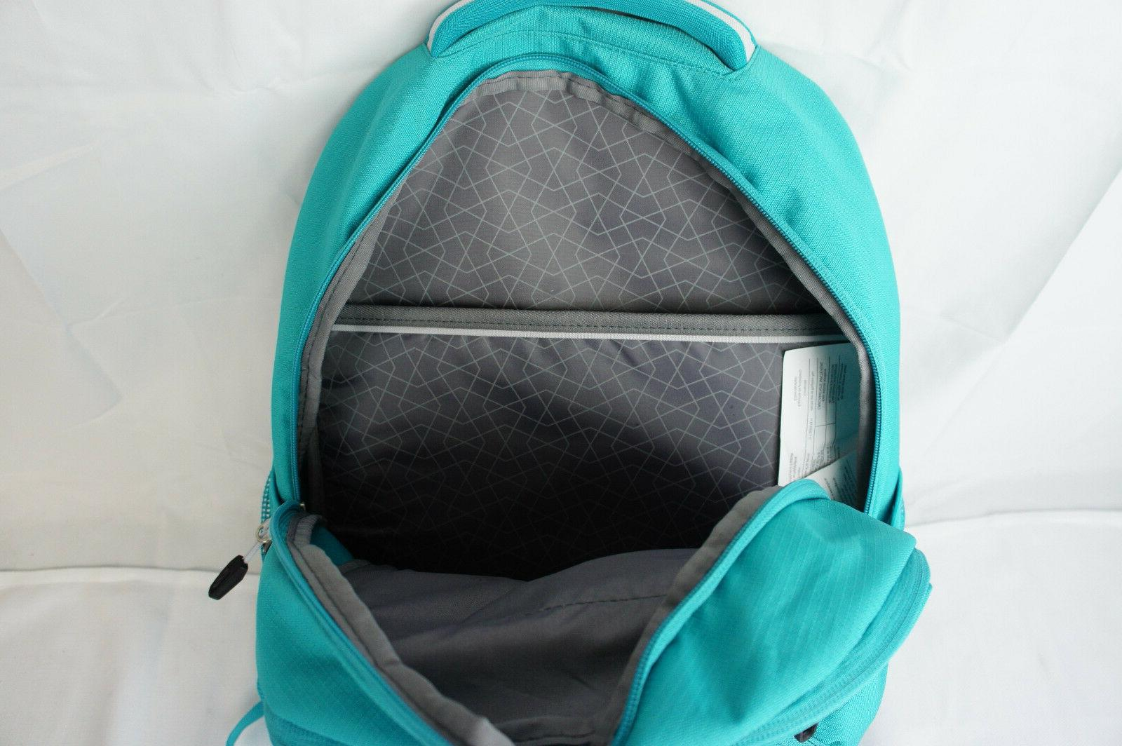 High Backpack W/ Sleeve Teal New With