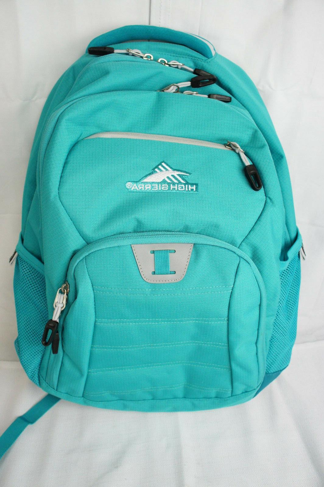 riprap everyday backpack w laptop sleeve teal