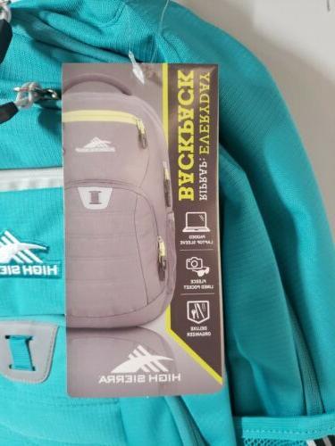 High RipRap Carry Lifestyle Backpack AQUA