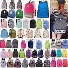 Women Men Girls Rucksack Shoulder Bookbags School Satchel Tr