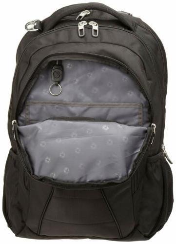 Swiss Gear SA1908 Black TSA Laptop Backpack Fits