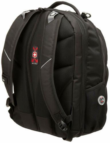 Swiss SA1908 Black TSA Friendly Backpack