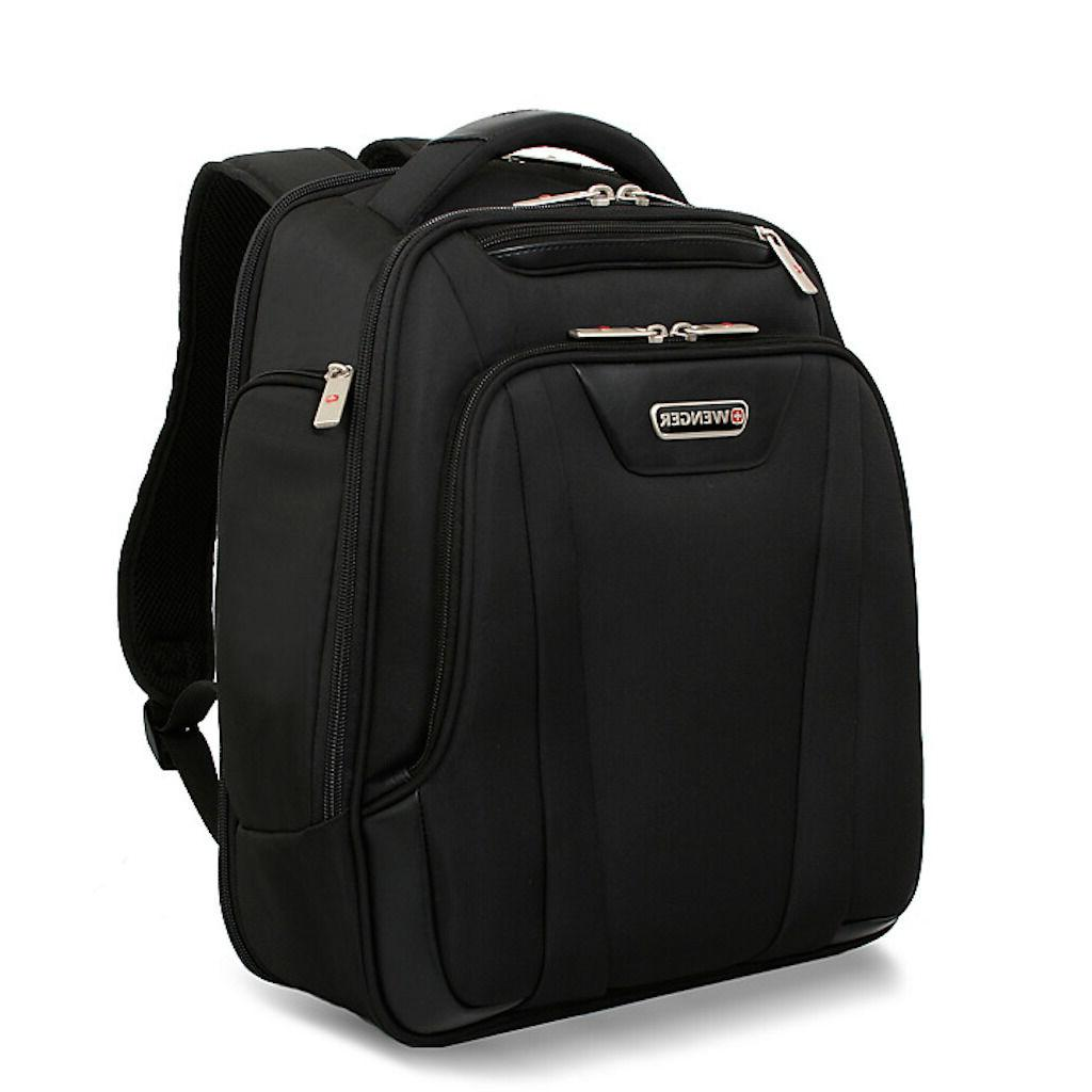ef5ae95dbf58 Wenger SA7299 Summit Black Laptop Computer Backpack -