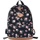 DGY School Backpacks Canvas Backpacks Cute Floral Printed Ba
