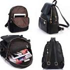 New Girl School Bag Travel Cute Leather Backpack Satchel Wom