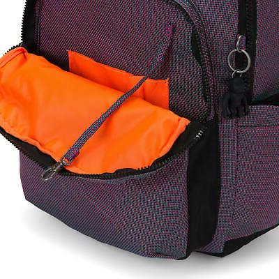 Kipling Large Laptop Backpack Blazing Ro