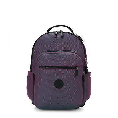 seoul large 15 laptop backpack blazing berry
