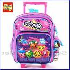 "Shopkins Backpack 12"" School Rolling  Backpack Book Bag"