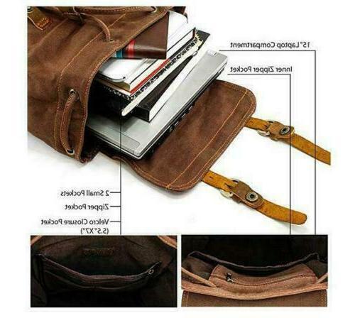"""Shoulder Leather 15"""" 17"""" Travel"""