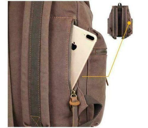"""Shoulder 15"""" Laptop Backpack Travel Camping"""