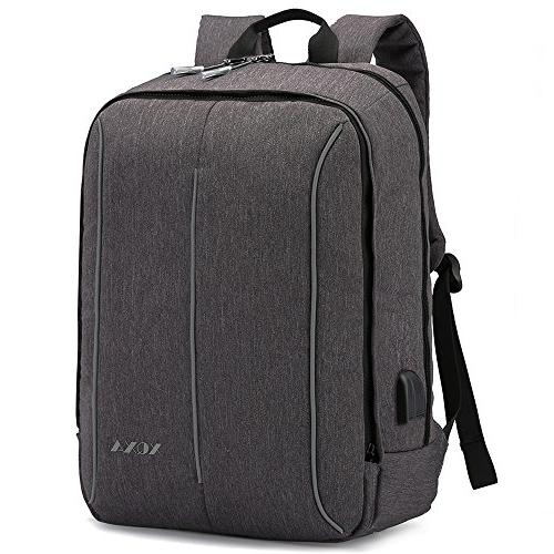 slim business backpack